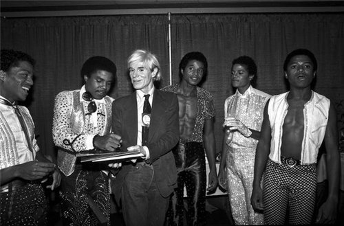 andy warhol & the jackson 5 by lynn goldsmith 1984