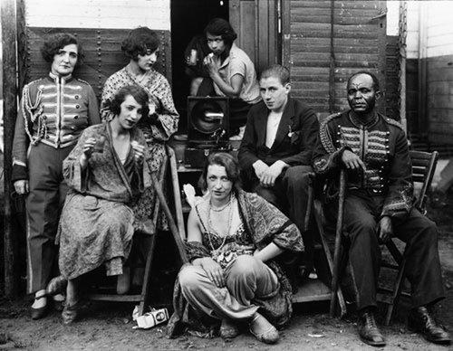 August Sander (German, 1876-1964), Circus Artistes, 1926-32
