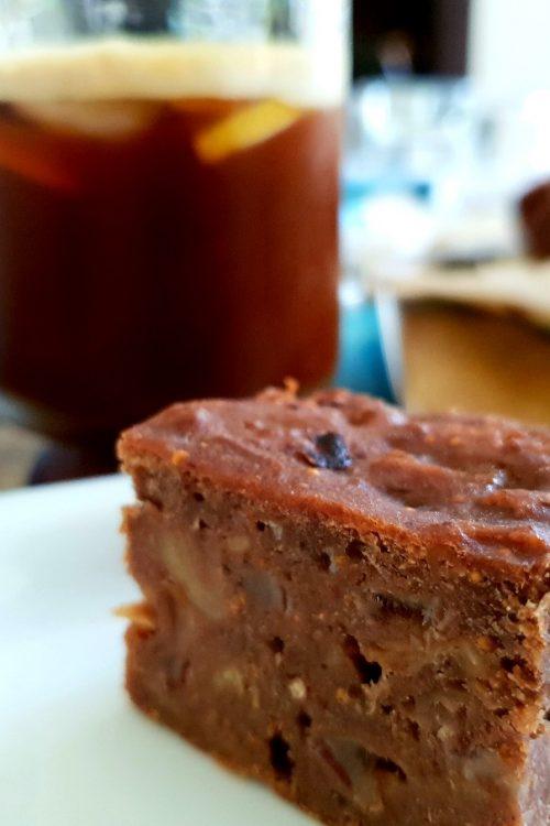 Prăjitură cu smochine și scorțișoară